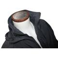 Abrigo y chaquetas de bombero con cremallera y cuello alto de moda para hombre de 2016