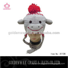 Funny knitted baby hat winter hat