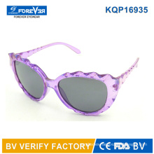 Kqp16935 New Design Beautiful Kids Sunglasses Girls Elegant