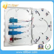 SC/LC/FC FTTH Fiber Optic Terminal Box, 4Port Fiber Optic Faceplate
