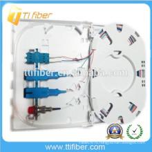 SC / LC / FC FTTH Волоконно-оптическая клеммная коробка, 4Port оптоволоконная лицевая панель