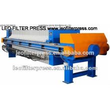 Leo Filterpresse Palmöl, das automatische Membranfilterpresse produziert