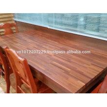 Eucalyptus marginata / Jarrah Butt / Finger Joint Laminated board / panel / worktop / Counter top / table top