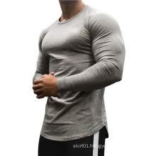 Crew-Neck  Workout Muscle Compression Tees