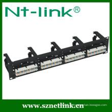 Shenzhen NT-Link alta integrada 48 porta cat6 patch painel
