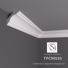 China wholesale high quality exterior pu decorative cornice moulding with lower price