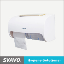 Paper Dispenser with Double Roll Large Capacity