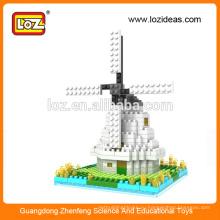 Модели миниатюрных моделей алмазной мельницы LOZ Windmill