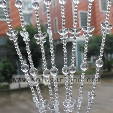 Home Decor Attractive Wholesale Acrylic Crystal Bead Curtain