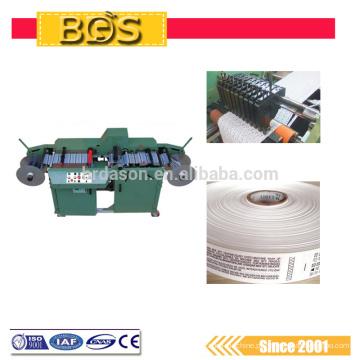 O CE aprovou a máquina de corte tecida ultra-sônica automática da etiqueta de BDS