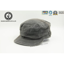 Grinding Washed Jean Leisure Army Hat Military Cap