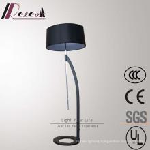 Modern Hotel Decorative Matt Black Adjustable Floor Lamp