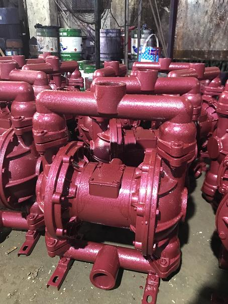 QBY type pneumatic diaphragm thick slurry pump 3