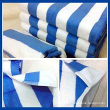 100% Cotton Striped Face Towel (QHF88981)