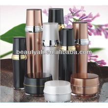 Luxury cosmetic packaging acrylic lotion bottle with pump