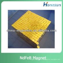 редкие земли покрытые золотом неодимовый магнит