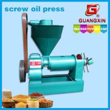 Extracción del aceite del tamaño pequeño 1.3tons por el tornillo del día