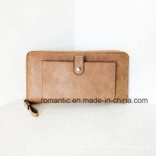 Brand Designer Lady PU Wallet Fashion Women Purse (NMDK-042202)