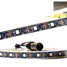 O pixel de DMX512A pelo pixel controla a luz de tira flexível mágica colorida 5V do diodo emissor de luz