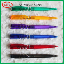 Hot selling colorful barrel ball pen
