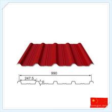 Plaque en métal préfabriquée standard de GB pour le toit ou le mur
