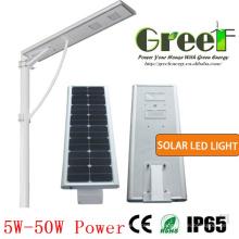 8W Solar do diodo emissor de luz de rua e uso de estrada