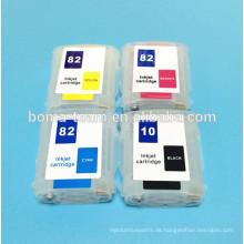 Für HP Designjet 500 800 Plotter Tintenpatrone Für HP 10 82 Mit Permanent Chip