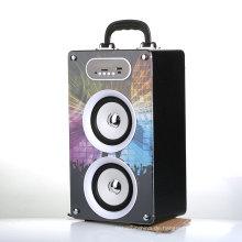 400 MAH Holzkiste Multimedia Lautsprecher