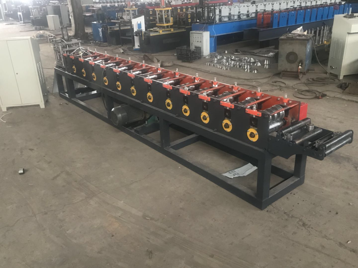 Fully Automatic Light Fence Steel Equipment