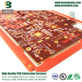 IT180 Multilayer PCB Thick Gold 6 camadas PCB ENIG 3U ""