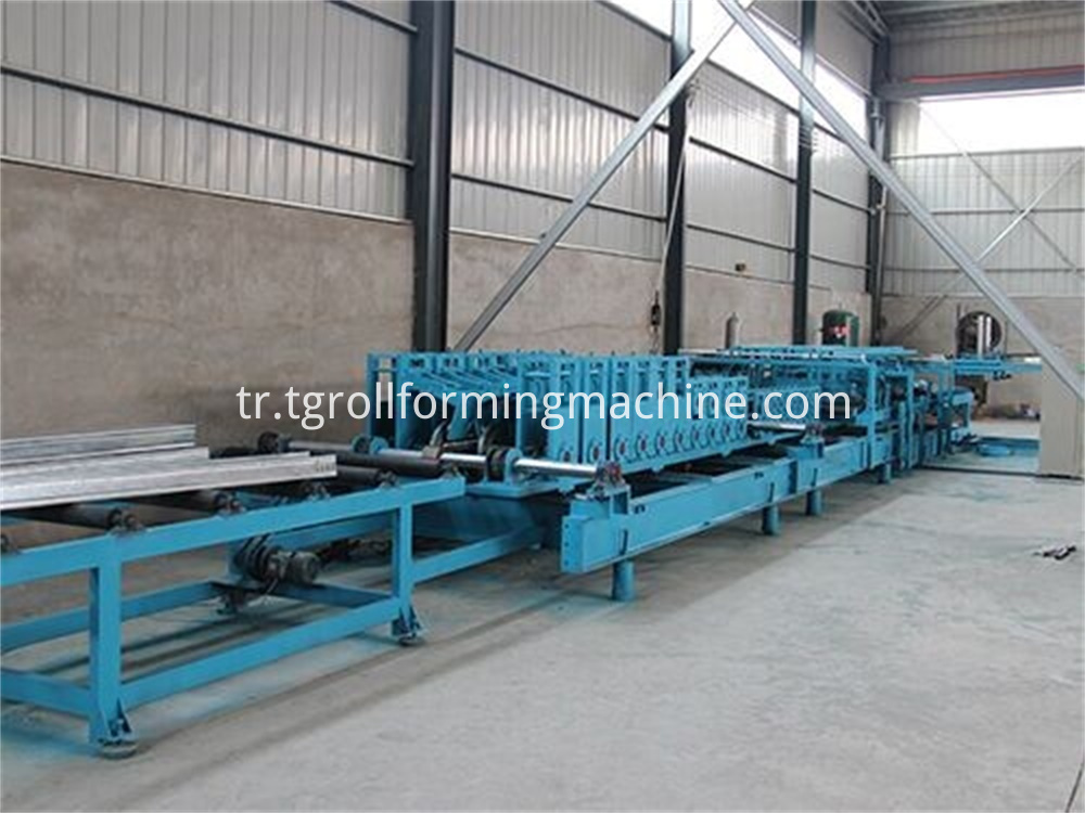 Ladder Type Cable Tray Making Machine