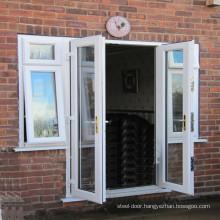 American style double glazing apartment entry door size customized exterior door foshan manufacturer apartment door entrance doo