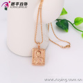 32286-Xuping gros pendentif en forme de rectangle de charmes avec plaqué or 18 carats