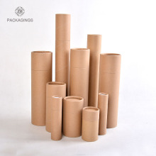 Cardboard craft paper mail tube nature