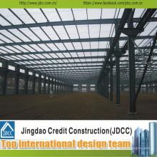 Offre de service d'installation d'entrepôt en acier de structure Jdcc1027