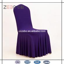 Casamento ou banquete usados 200GSM Lycra tecido esticar cadeira cobre para venda