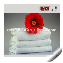 High Quality Plain Woven Fabric Wholesale White Cotton Face Towel
