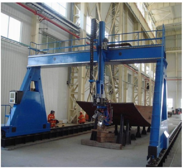 Gantry Type Curved Plate Bevel Cutting Machinery2