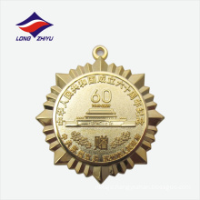 Die casting high-end souvenir wholesaler brass metal medal