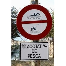 Pool Steel Metal Painting Regulatory Sign