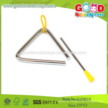 EZ9018, 2015 Cheap And Top Quality Toy Instruments,Wooden Musical Triangle toy,Steel Musical Toys