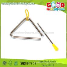 EZ9018, 2015 Instrumentos de brinquedo baratos e de qualidade, brinquedos triangulares de madeira, brinquedos musicais de aço