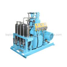 Sans huile Oilless Medical O2 Oxygen Helium Compresseur d'azote