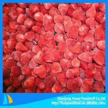 2015 nouvelle récolte hot sale grade A fraise congelée