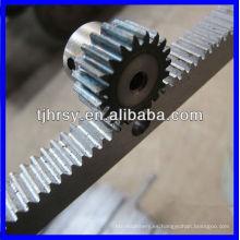 Cremallera y piñón de aluminio / acero / acero inoxidable