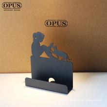 Minimalist Work Card Holder Metal Card Holder