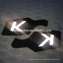 Brilho no escuro rótulo reflexivo para bolas de tênis / futebol