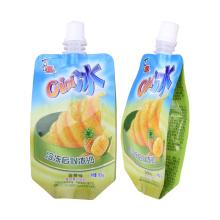 biodegradável cliente levante-se malotes de empacotamento da folha para o líquido