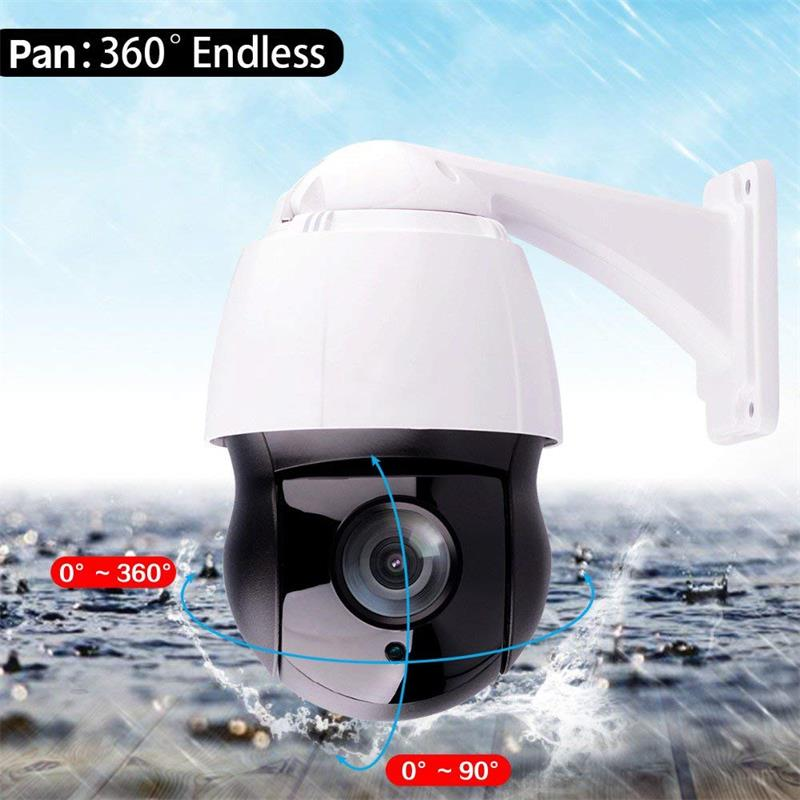 Wdm 2018 New 4.5 Inch CCTV 36X Zoom 2.0MP or 5.0MP 150m IR Distance High Speed Dome Outdoor Indoor Waterproof Video Surveillance HD PTZ IP Camera