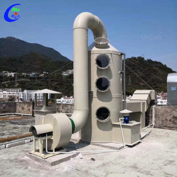 Gas Spray Absorption Scrubber Cleaner Tower